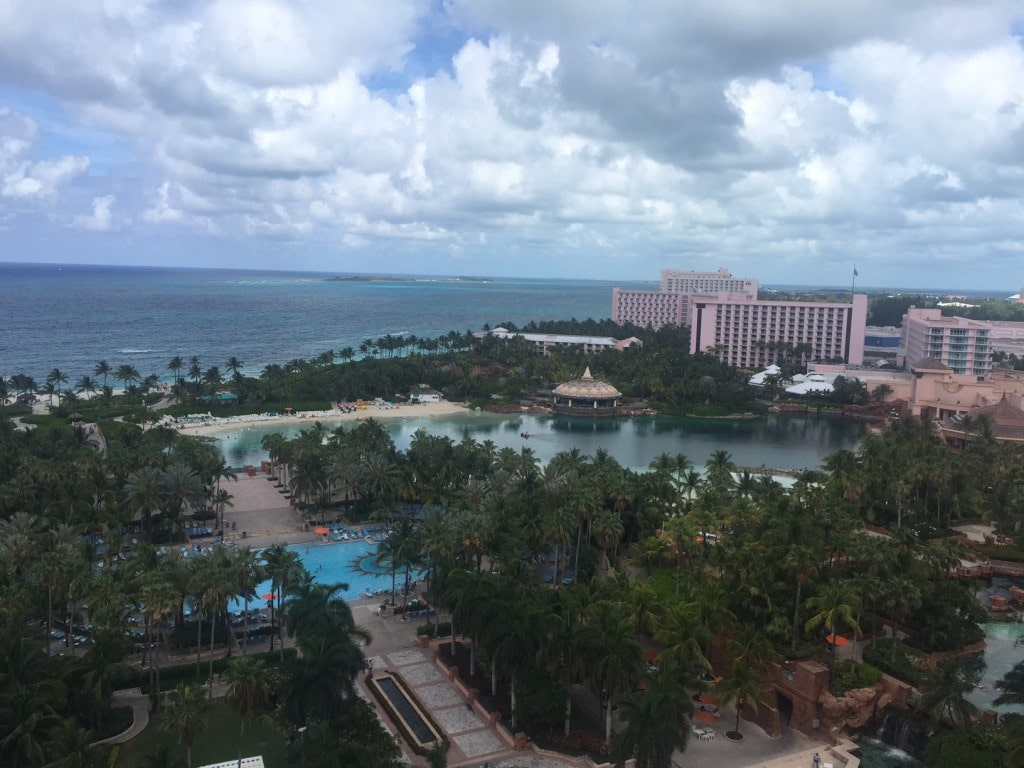 """The view from our room - """"The Secrets of Atlantis in the Bahamas"""" - Two Traveling Texans"""