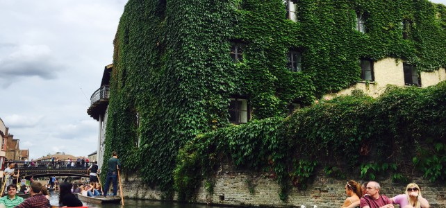 Punting in Cambridge, England – And I am not Talking about Football