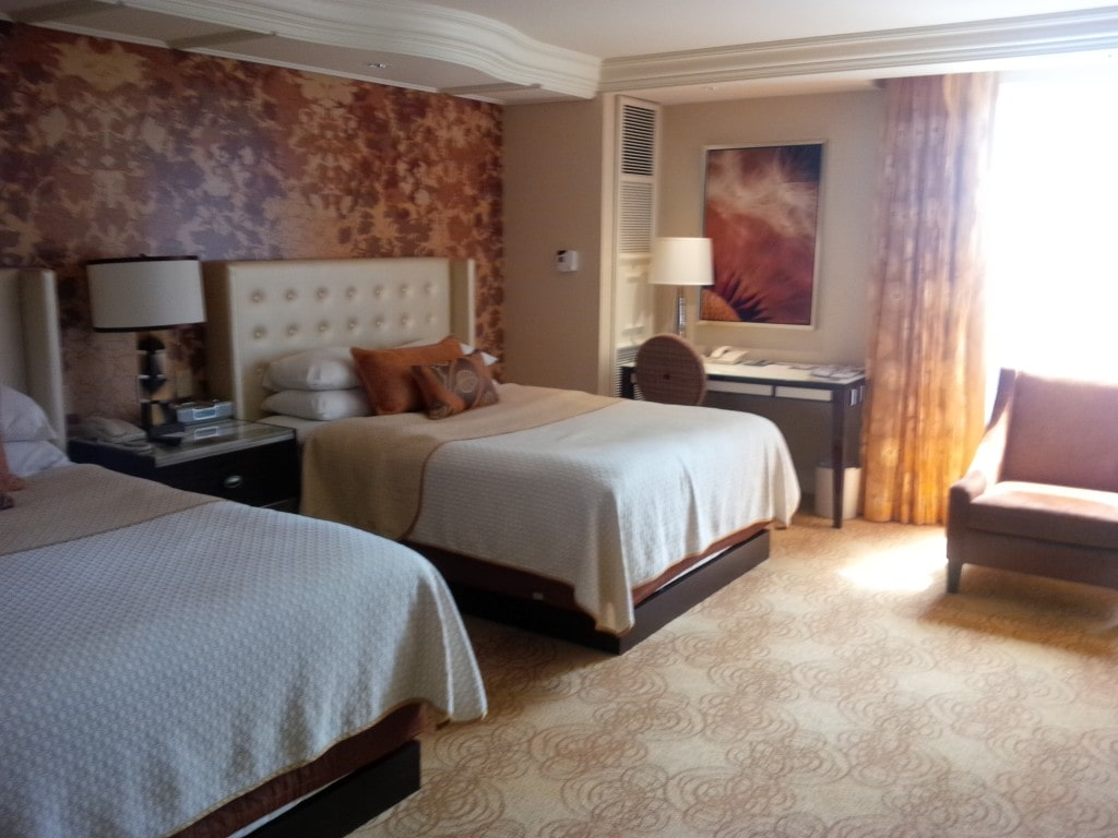 """Our room in the Bellagio - """"The Bellagio Las Vegas in July - Hot Hot Hot!"""" - Two Traveling Texans"""