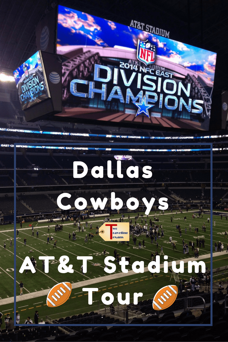 A travel blog that tells you what you will see and learn on the VIP guided tour of the Dallas Cowboys AT&T Stadium. | NFL | Football | Texas