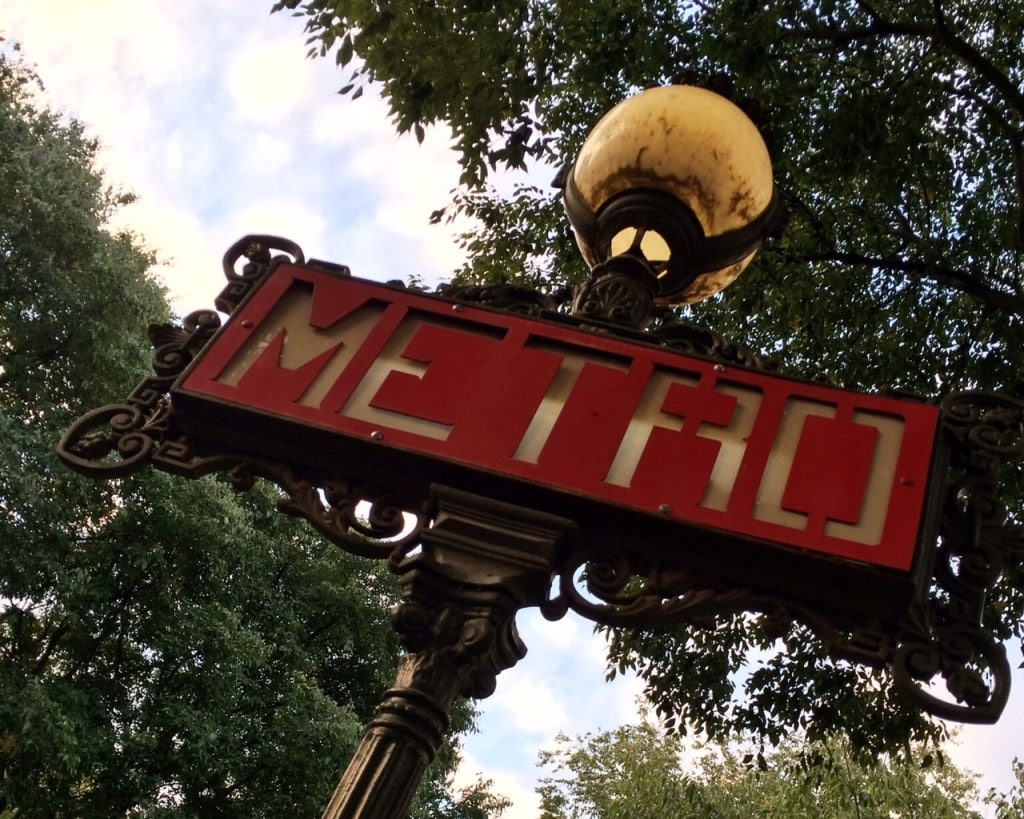 """I was really impressed by the Metro system! - """"12 Random Observations about Paris, France"""" - Two Traveling Texans"""