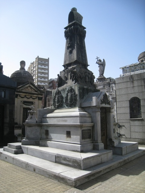 One example of an elaborate mausoleum,