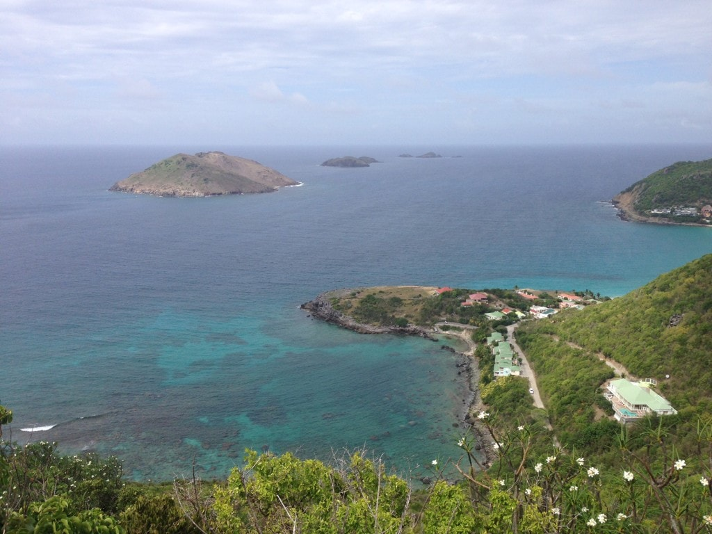 """Another great view from our drive - """"St. Barts for the Day"""" - Two Traveling Texans"""
