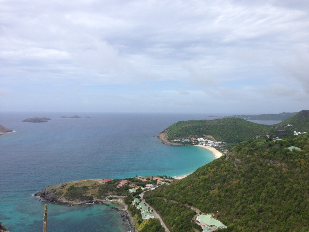 """View from our drive on the northwest part of St. Barts - """"St. Barts for the Day"""" - Two Traveling Texans"""