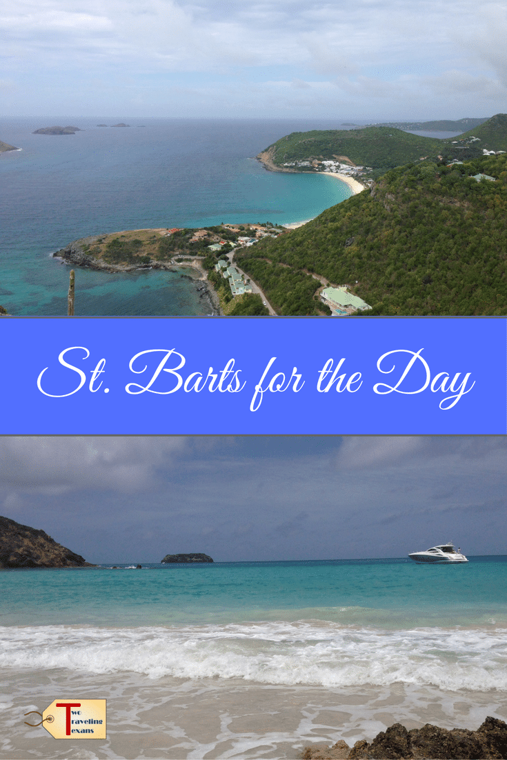 Travel blog about a day trip to St. Barts from St. Martin with suggestions on what to see, eat, and drink. Also, includes information on the ferry.