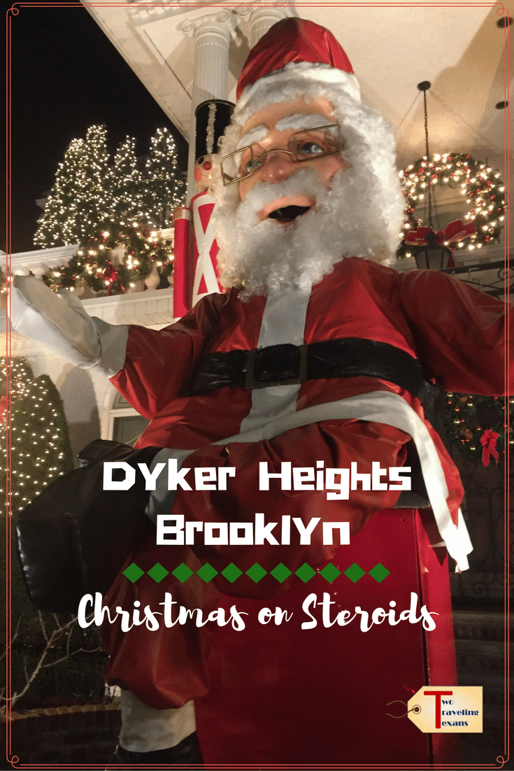 A travel blog about venturing out to the Dyker Heights neighborhood in Brooklyn to see the spectacular Christmas Light displays.#nyc