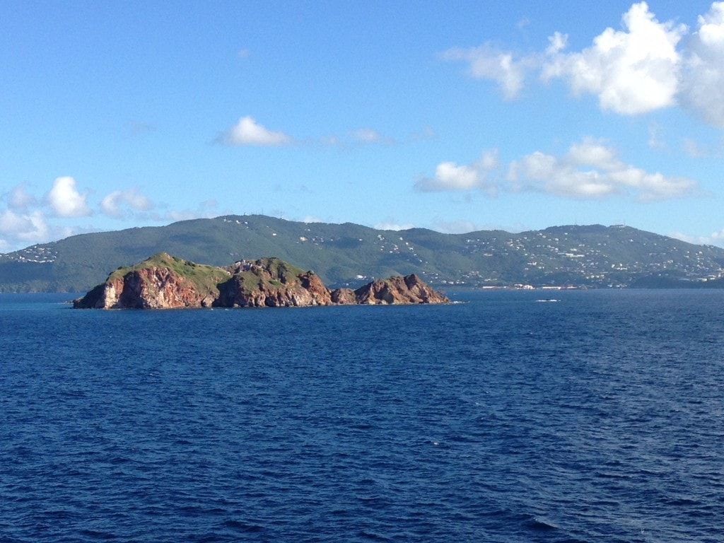 """Cruising off the coast of St. Thomas - """"Our 2016 Travel Wish List"""" - Two Traveling Texans"""