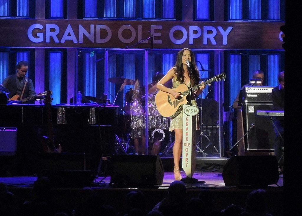 "Annie Bosko making her debut at the Grand Ole Opry in Nashville - ""Our 2016 Travel Wish List"" - Two Traveling Texans"