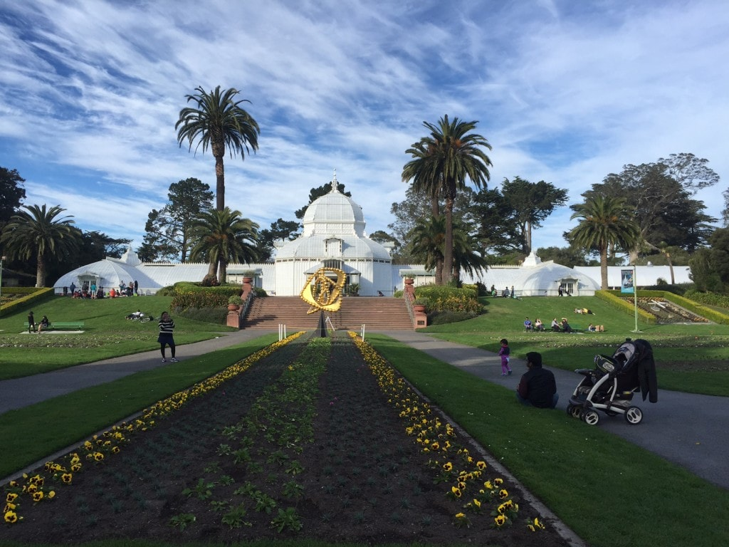 "The Conservatory of Flowers is a beautiful building. - ""Golden Gate Park - More than Your Average Greenspace"" - Two Traveling Texans"