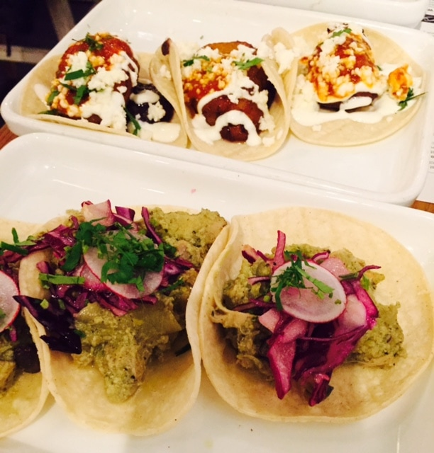 """A selection of tacos, delicious! - """"Mexican Food Finds in London"""" - Two Traveling Texans"""