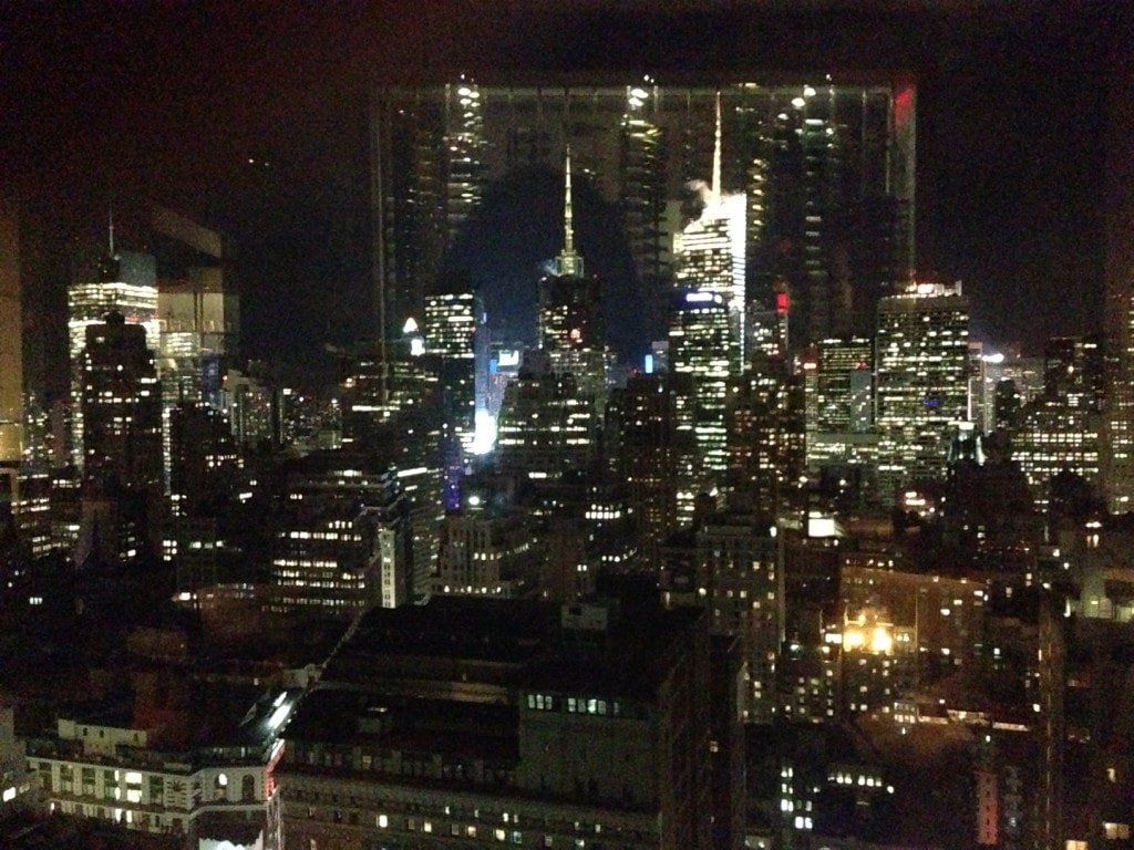 "View from Gaonnuri, sorry about the reflections! - ""Koreatown: A Little Seoul in NYC"" - Two Traveling Texans"