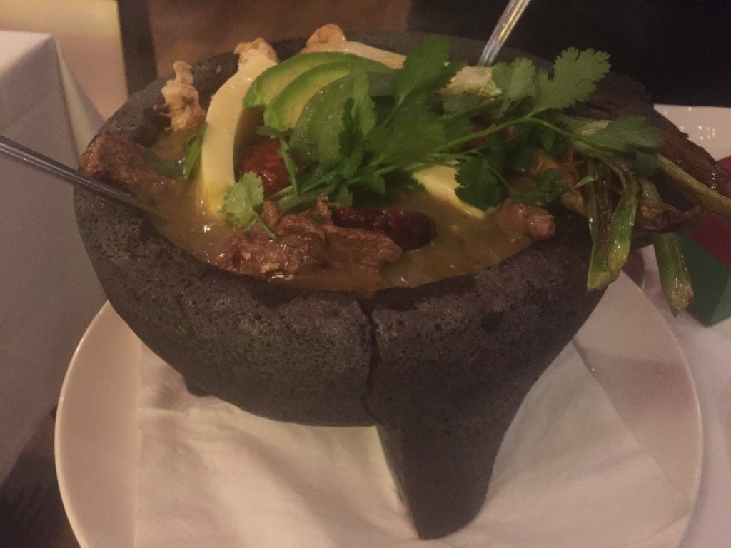 """The perfect sharing dish - Molcajete 'Mestizo' - """"Mexican Food Finds in London"""" - Two Traveling Texans"""