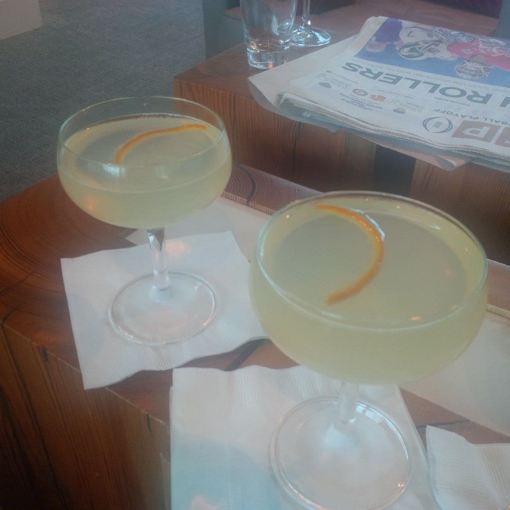 """Cocktails to start the New Year off right! - """"The Centurion Lounge - Making the Best of a Long Layover"""" - Two Traveling Texans"""