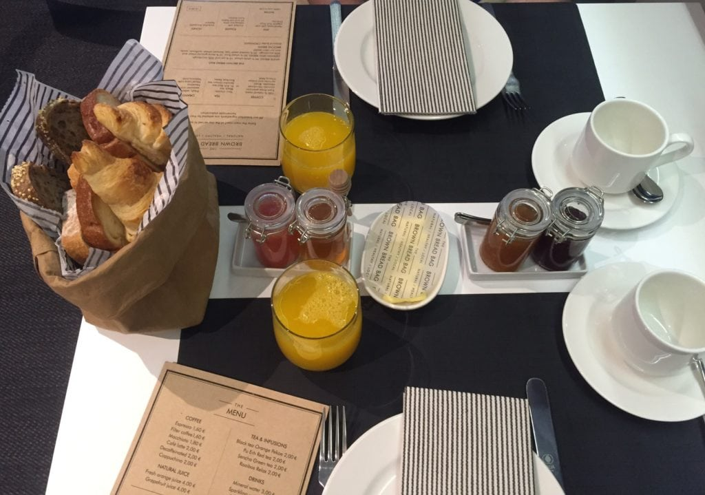 """The brown bag breakfast is a great way to start your day. - """"One Day in Bilbao"""" - Two Traveling Texans"""