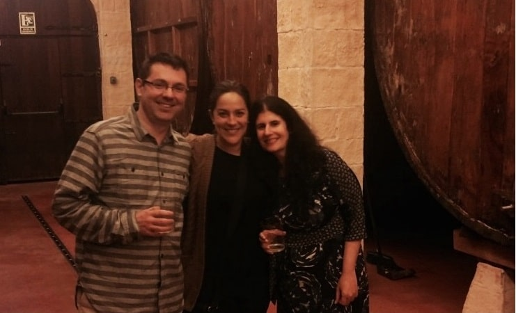 """Having a great night with Eskerne at the cider house - """"Petritegi Cider House Rules"""" - Two Traveling Texans"""