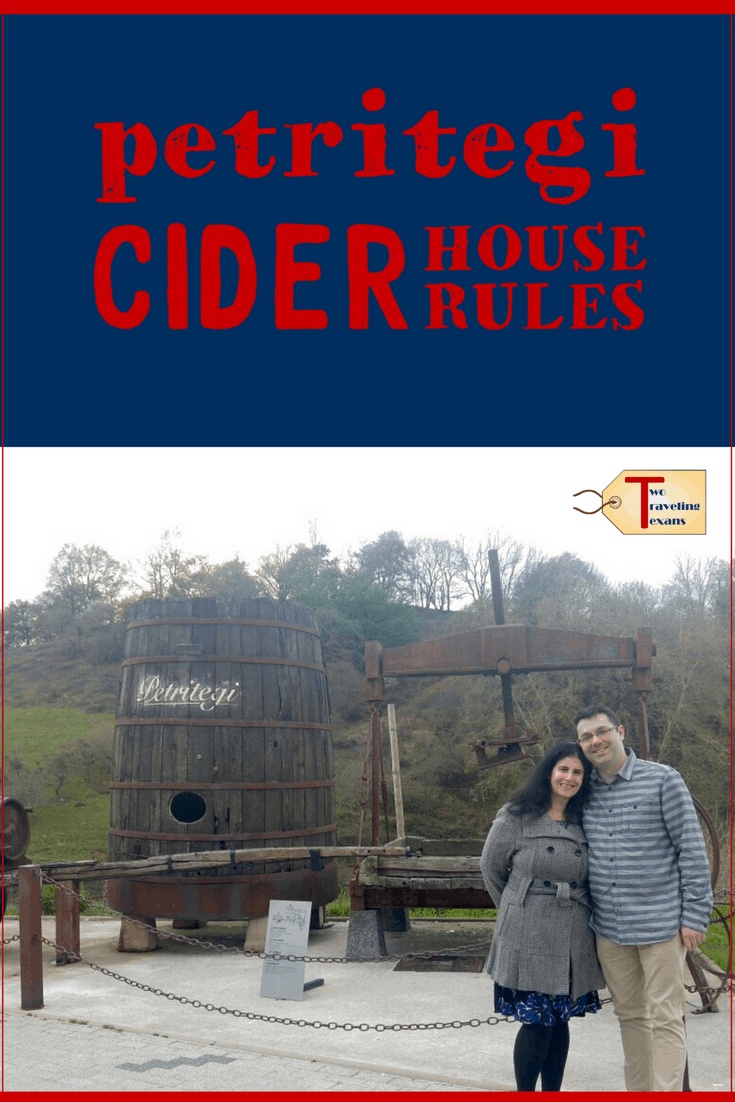 Spend an evening at a Basque Cider House with Discover San Sebastian. We learned how they make the cider and had a lot of fun. | Spain
