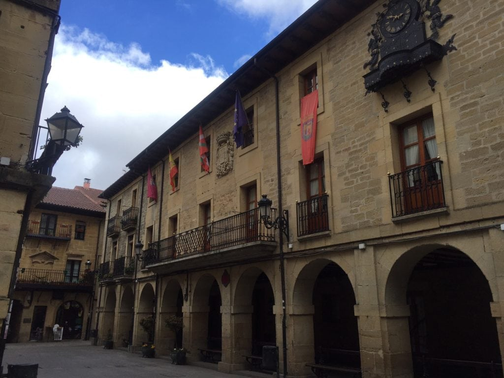 Plaza Mayor is the center of the town.