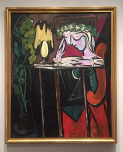 """Picasso's """"Reading at a Table,"""" 1934 Metropolitan Museum of Art - """"Barcelona's Picasso Museum: Not What You Would Expect"""" - Two Traveling Texans"""