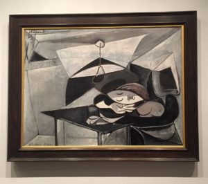 """Picasso's """"Woman Asleep at a Table"""", 1936 from the Metropolitan Museum of Art - """"Barcelona's Picasso Museum: Not What You Would Expect"""" - Two Traveling Texans"""