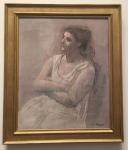 """Picasso's """"Woman in White,"""" 1923 Metropolitan Museum of Art - """"Barcelona's Picasso Museum: Not What You Would Expect"""" - Two Traveling Texans"""