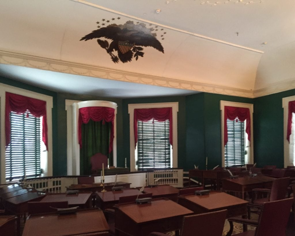 Just think about all the heroes that have been inside Independence Hall in Philadelphia