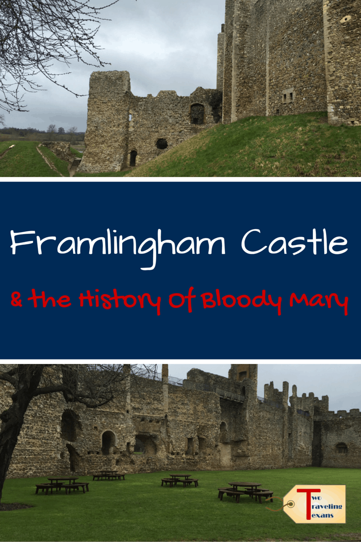 A travel blog about visiting Framlingham Castle in England, which was built in the 12th century, and learning about its history.