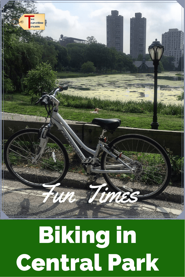 A travel blog about my first time biking in Central Park, courtesy of Central Park Sightseeing, plus a discount code for you to get 50% off your rental.