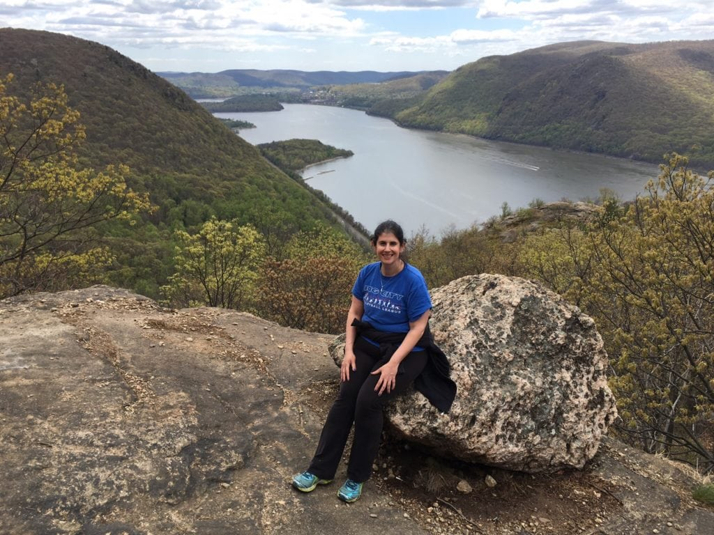 "Anisa taking a well-deserved break! - ""Breakneck Ridge Lives Up To Its Name"" - Two Traveling Texans"