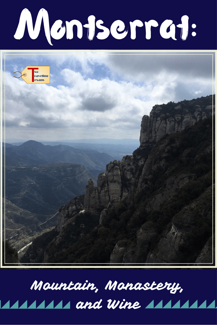 A travel blog about a half day tour going to Montserrat Spain and the Oller Del Mas winery with Castlexperience.