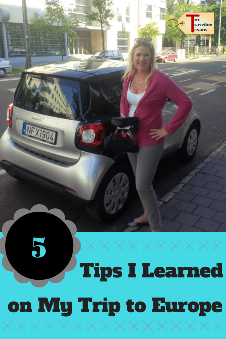 A travel blog sharing five tips learned on a recent solo vacation to Europe that will help you save valuable time and money.