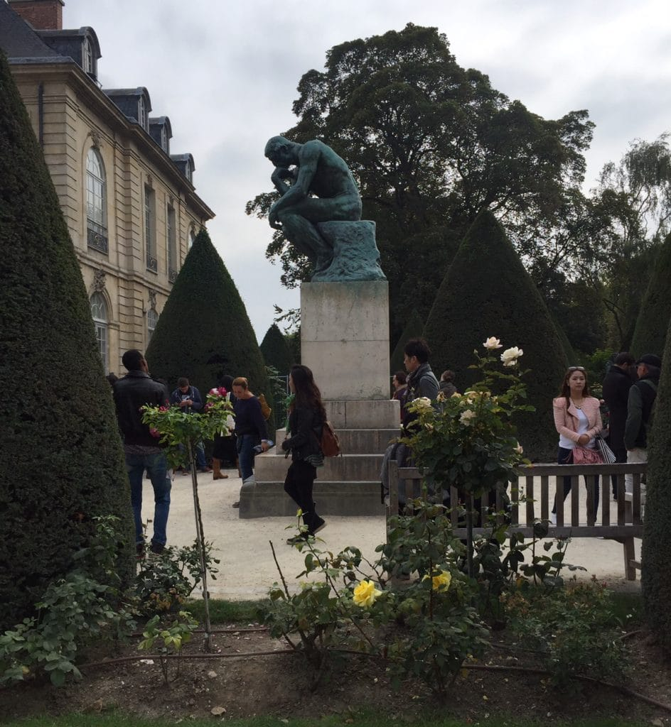 "Rodin's most famous work is probably the Thinker - ""Rodin Around the World"" - Two Traveling Texans"