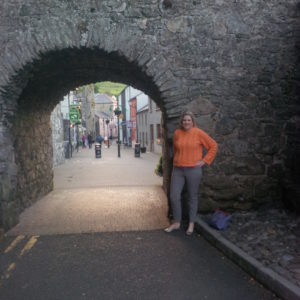 Katherine in Carlingford, Ireland
