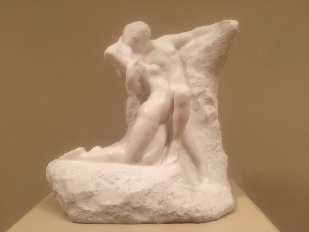 "I love that you can really feel the passion from this piece called Eternal Spring. - ""Rodin Around the World"" - Two Traveling Texans"