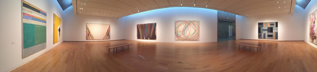 One of the galleries that is part of the permanent collection.