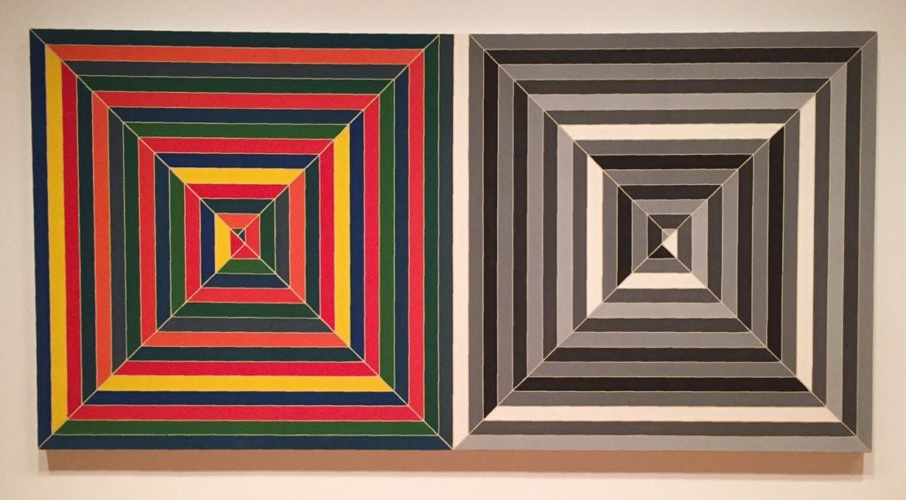 From the special exhibit - Frank Stella : A retrospective