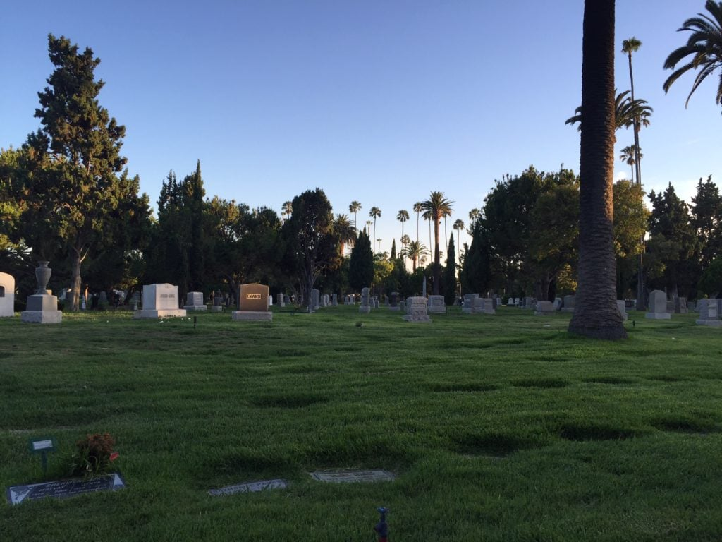 """Hollywood Forever Cemetery Movie Night"" - Two Traveling Texans"