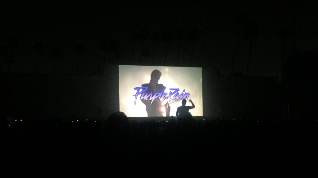 Movie starts at the Hollywood Forever Cemetery