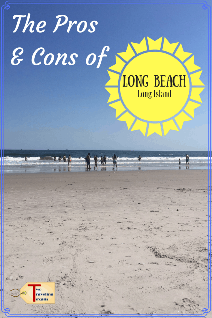 A travel blog about the positives and negatives of venturing out to spend the day at the beach in Long Beach Long Island.