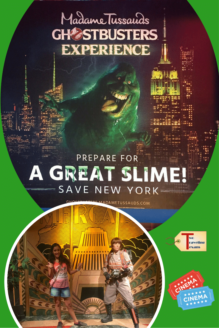 Why you should visit Madame Tussauds in NYC check out the special Ghostbusters Dimensions hyper-reality experience. | New York City | Family Travel
