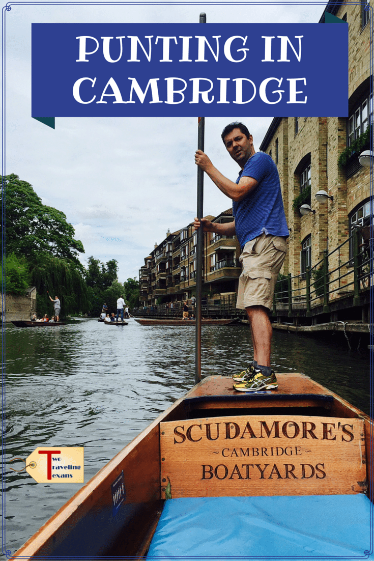 A travel blog post about our adventures punting in Cambridge, England for the first time and our stay at CityStay managed apartments.