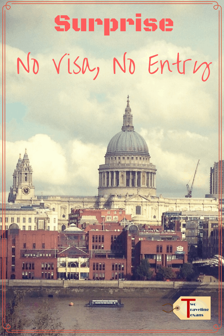 A travel blog about the importance of researching if you need a visa before traveling because if you don't you may be sent home.