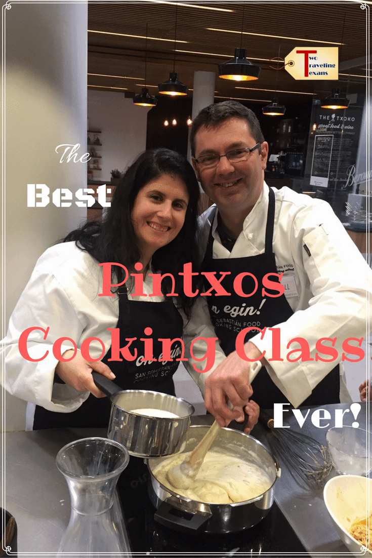 A travel blog about how much fun we had and what we learned taking the Essential Pintxos cooking class with San Sebastian Food.