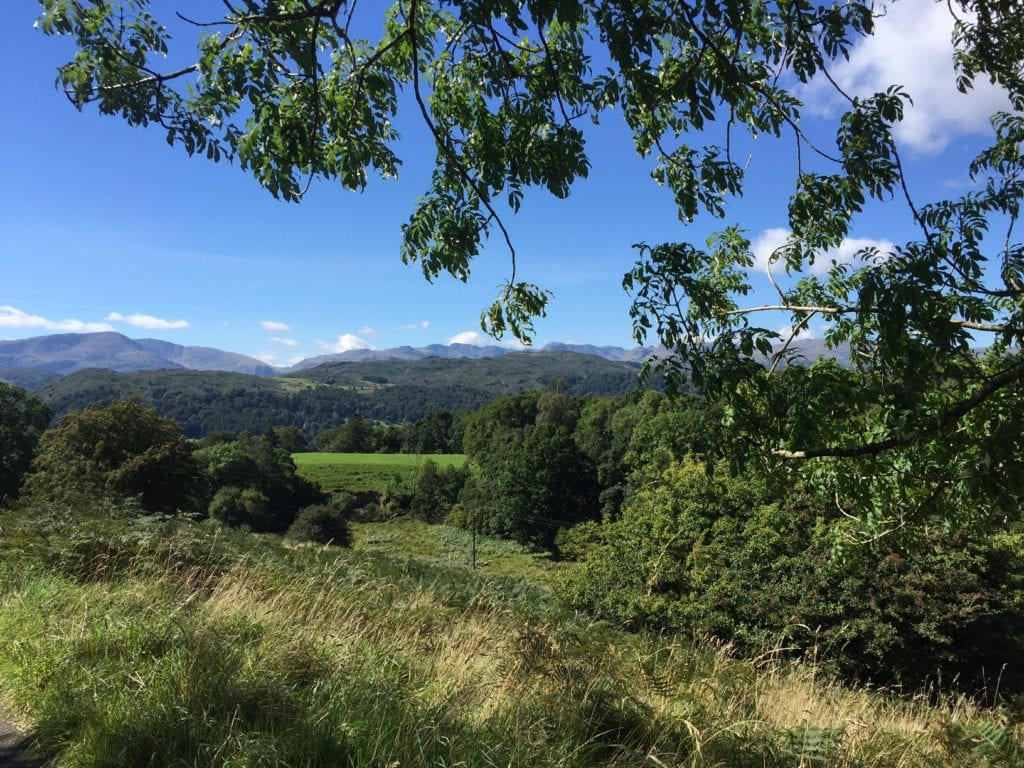 """Some of the gorgeous countryside we would see on our hike. - """"An Introduction to England's Lake District"""" - Two Traveling Texans"""