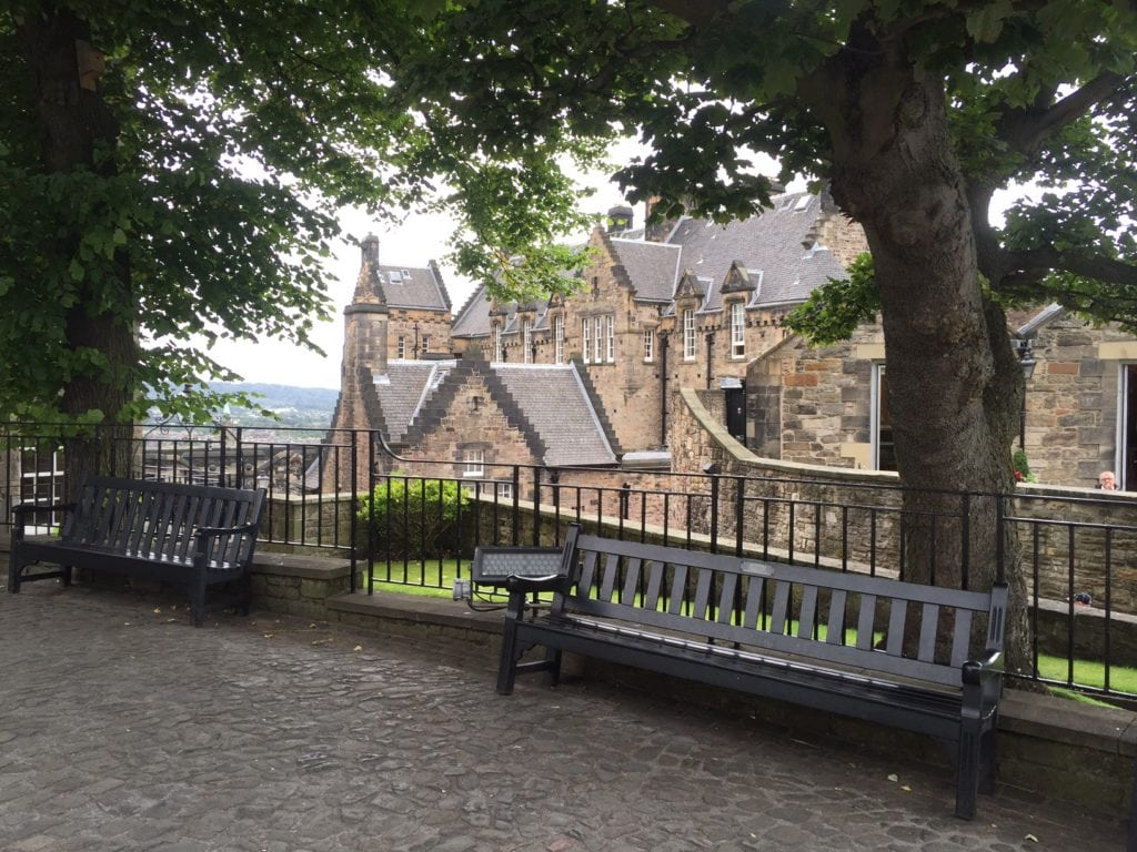 "A section of the castle with no people! - ""Experiencing History at Edinburgh Castle"" - Two Traveling Texans"