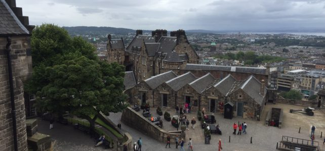 Experiencing History at Edinburgh Castle