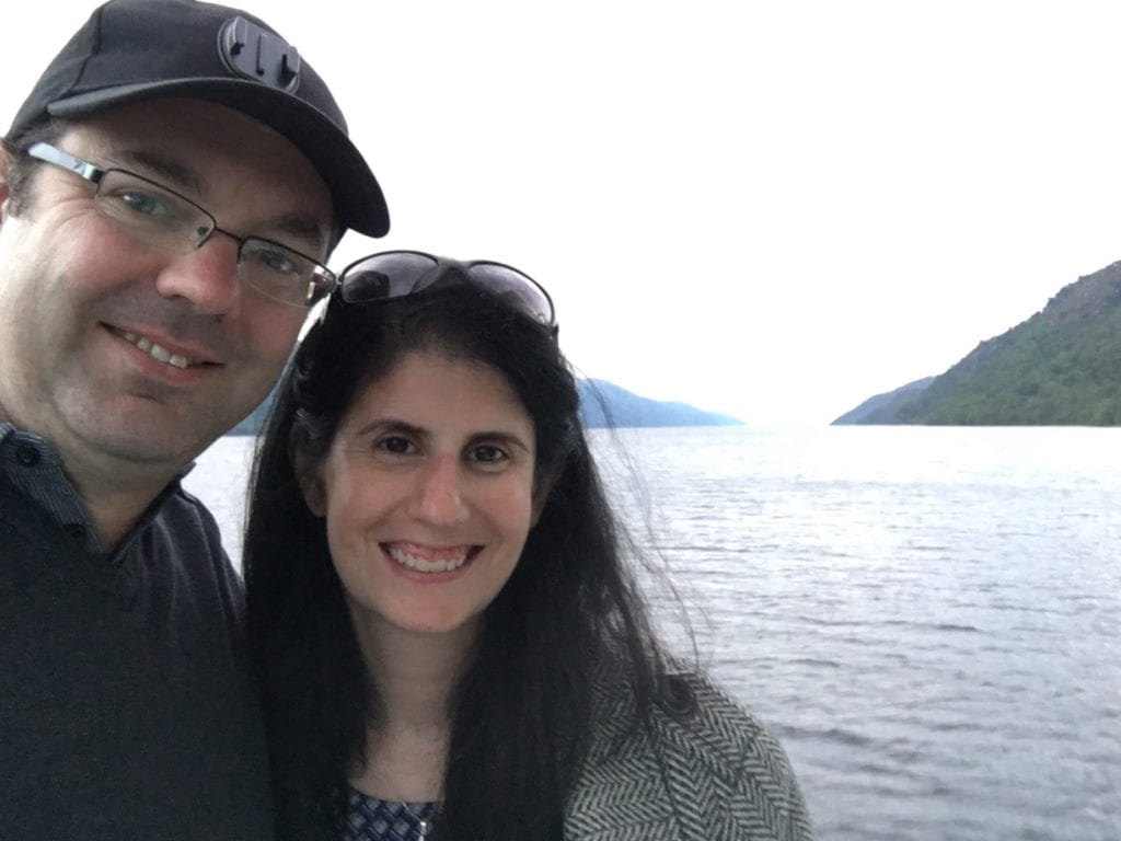 "Selfie with Russell on our cruise - ""Loch Ness: Searching for Nessie"" - Two Traveling Texans"