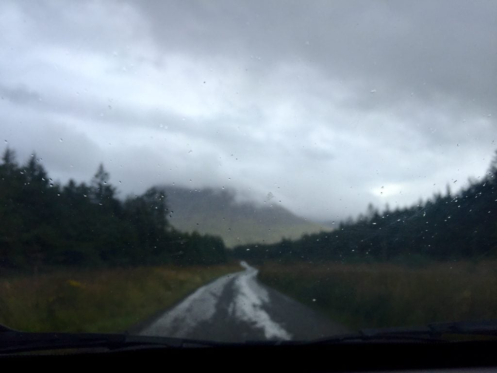 """We didn't always have the best weather! - """"UK vs US: Road Trip Comparison"""" - Two Traveling Texans"""