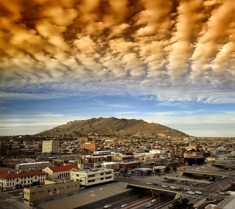 "Gorgeous skies over El Paso - ""Texas Trippin': Driving Through Texas (Guest Post)"" - Two Traveling Texans"