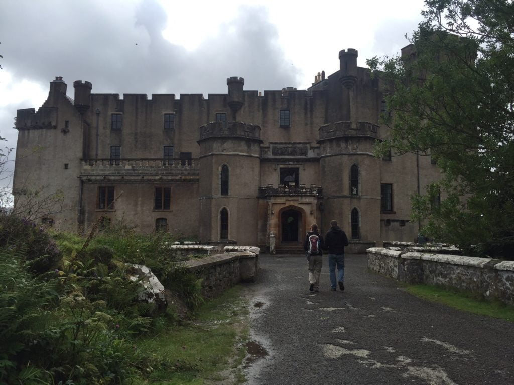 "The entrance to Dunvegan Castle. - ""Dunvegan Castle and the Fairy Flag"" - Two Traveling Texans"