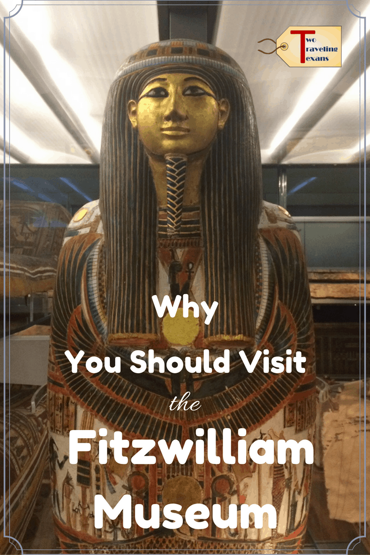 A travel blog that provides an overview of the Fitzwilliam Museum in Cambridge, England and why it is definitely worth a visit. #art